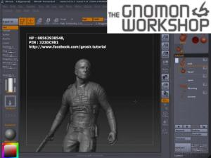 Gnomon Workshop - Character Modeling for Modeling Projection