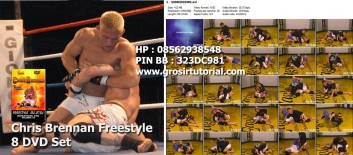 Chris Brennan Freestyle 8 DVD Set