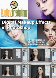 Digital Makeup Effects in Photoshop