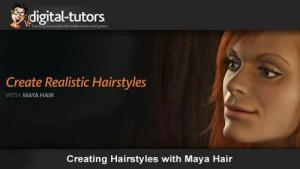 Digital tutor - Creating Hairstyles with Maya Hair