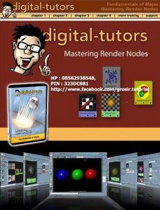 Digital Tutor - Mastering rendering node