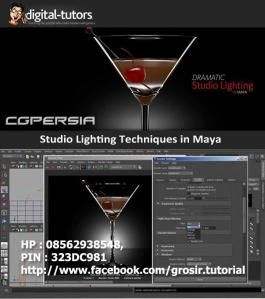 Digital Tutor - Studio Lighting Techniques Maya