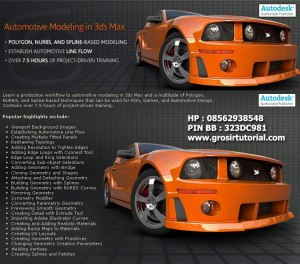 Digital Tutors - Automotive Modeling in 3ds max