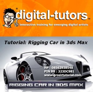 Digital Tutors - Car Rigging in 3ds Max