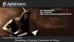 Digital Tutors - Creative Development Modeling a Fantasy Character in Maya