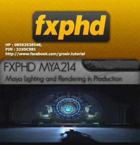 FXPHD - FXPHD Maya Lighting and Rendering