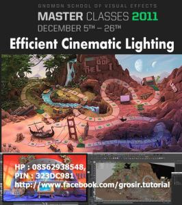 Gnomon Workshop - Efficient Cinematic Lighting with Jeremy Vickery