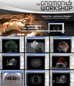 Gnomon Workshop - Mental Ray Lighting and Shaders