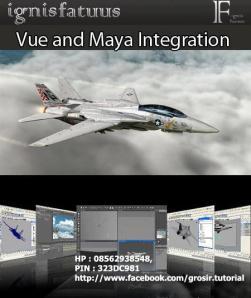Ignisfatuus - Vue and Maya Integration