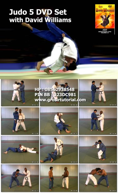 Judo 5 DVD Set with David Williams