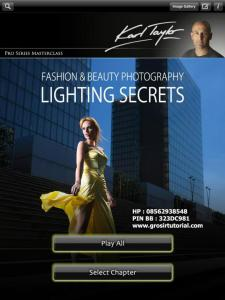 Karl Taylor Fashion and Beauty Lighting Secrets