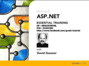 Lynda.com - ASP NET Essential Training