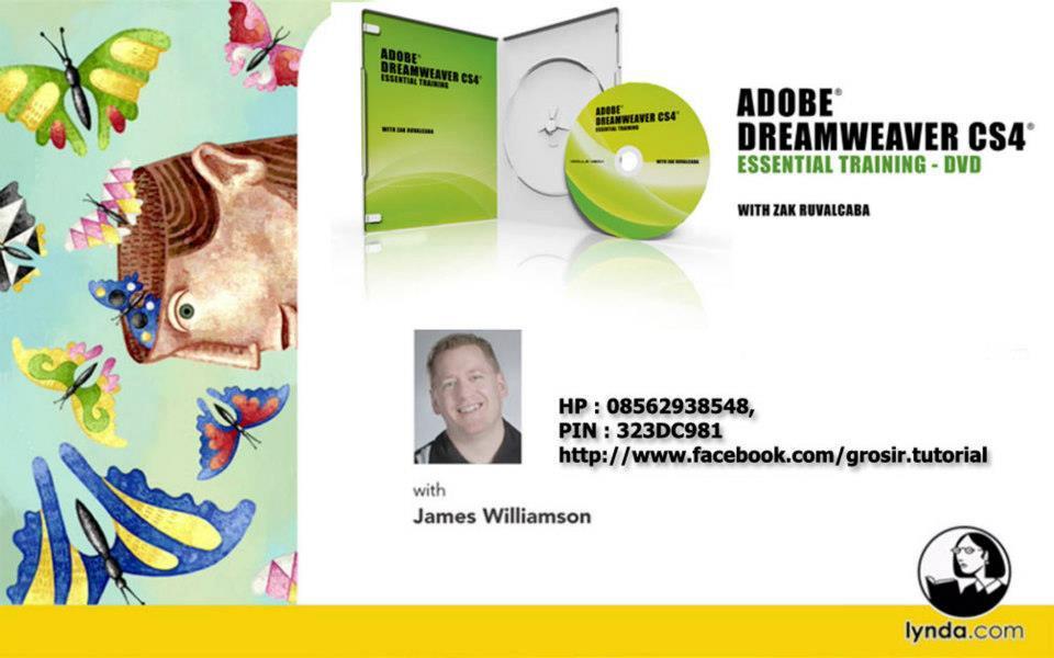 Jual Video Tutorial Lynda.com – Dreamweaver CS4 Essential Training ...