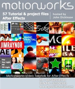 Motionworks - 57 Video Tutorials for Adobe After Effects