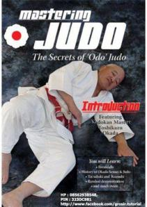 Okada Mastering Judo, the secrets of odo' judo