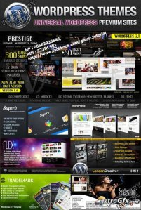 ThemeForest - Universal WordPress Website Templates