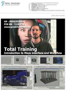 Total Training - Introduction to Maya Interface and Workflow