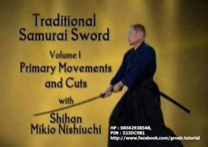 Traditional Samurai Sword vol 1