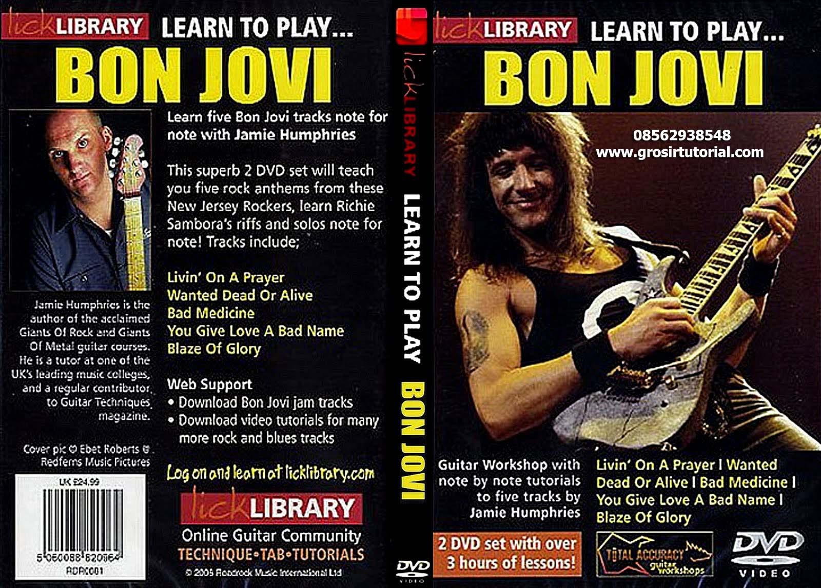 Lick library bon jovi