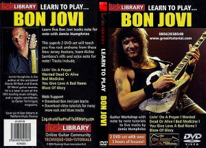 Bon Jovi Lick Library Learn To Play