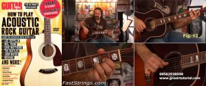 Guitar World How To Play Acoustic Rock Guitar
