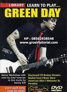 Learn to play Green Day (DVD version