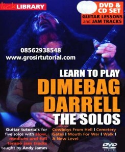 Lick Library - Learn to play Dimebag Darrell The Solos