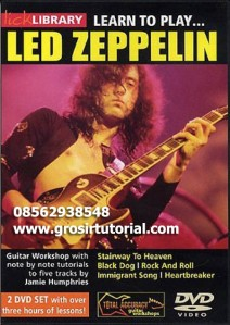 Lick Library Learn To Play Led Zeppelin Complete 2 Volume