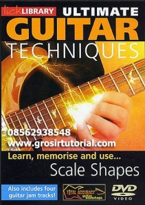 Lick Library - Ultimate Guitar Techniques Scale Shapes
