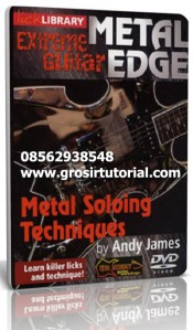 Metal Soloing Techniques By Andy James