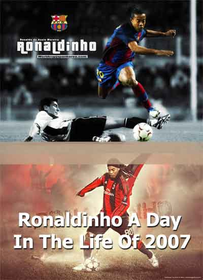 Jual DVD Video Dokumenter Ronaldinho A Day In the Life Of 2007