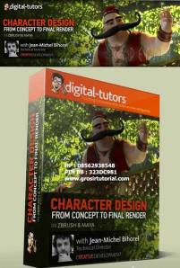 Digital-Tutors---Crafting-Characters-from-Design-to-Composite-in-ZBrush-and-Maya