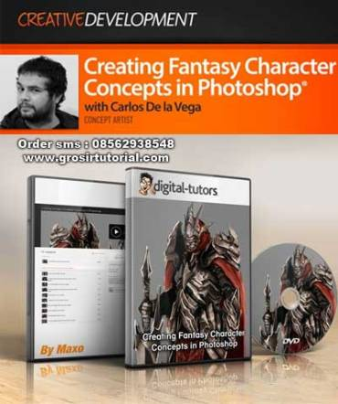jual-dvd-tutorial-photoshop-Digital-Tutors---Creating-Fantasy-Character-Concepts-in-Photoshop