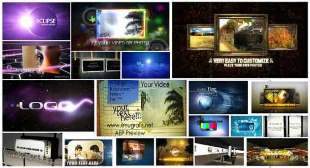 Jual Template After Effects Video Hive Terbaru